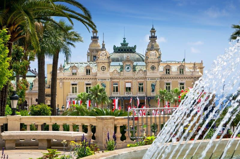 Kasino, Monte Carlo, Monaco stockfotos