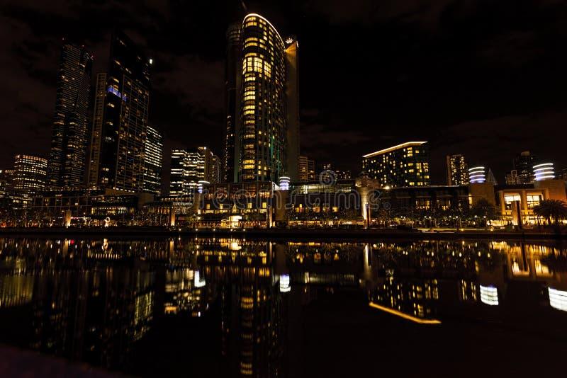 Kasino på natten royaltyfria bilder