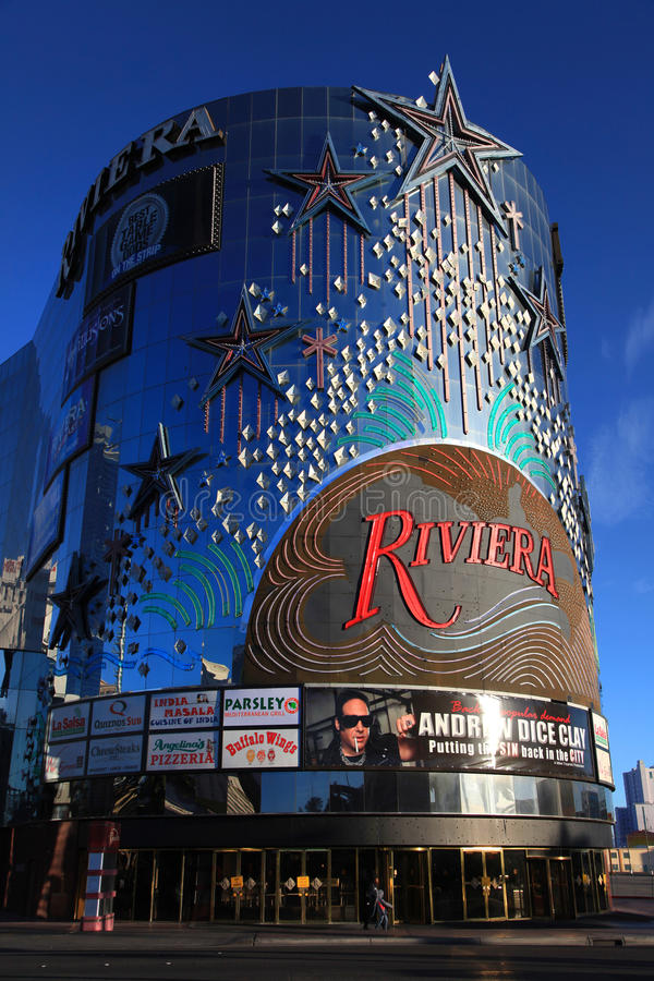 Kasino Riviera royaltyfri fotografi