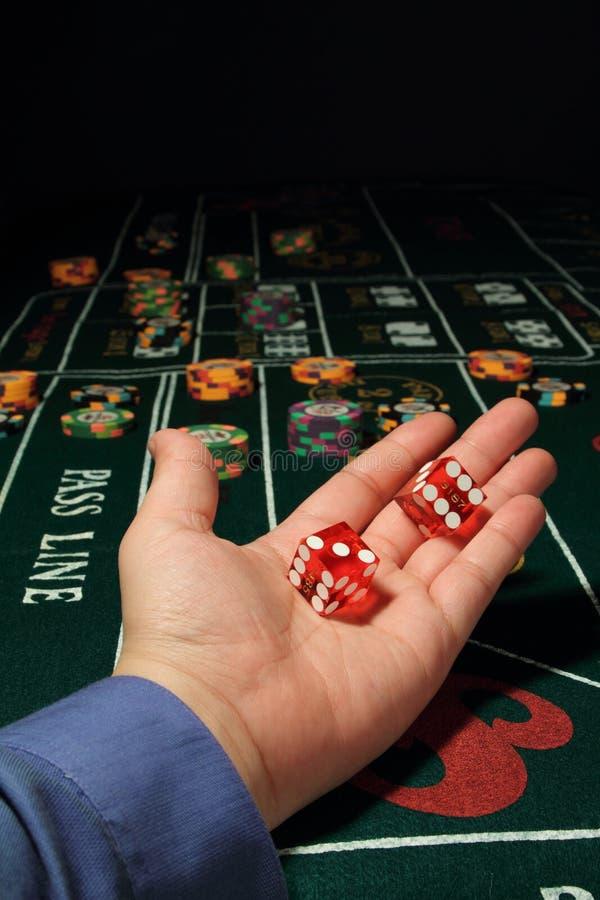 Kasino scheißt lizenzfreie stockfotos