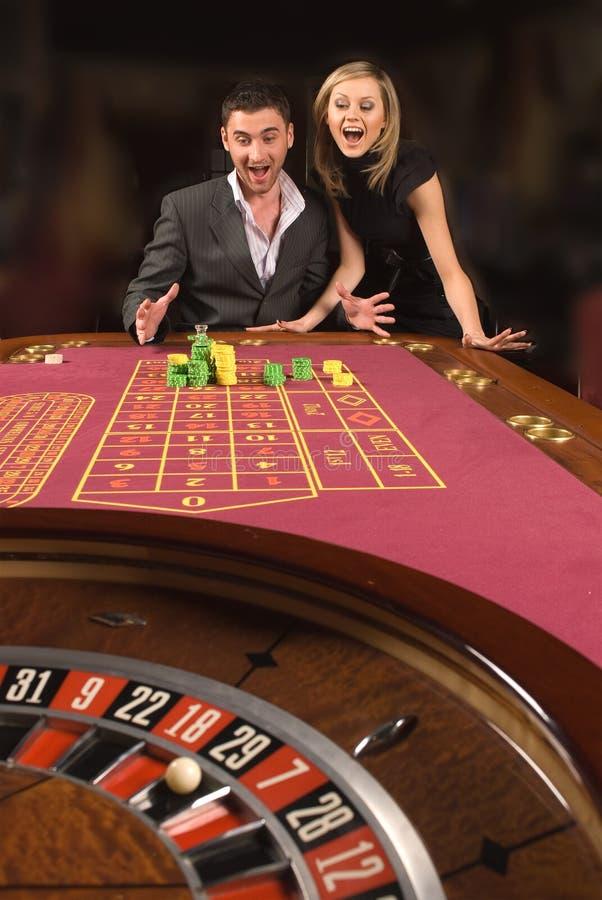 Kasino und Jugend lizenzfreie stockbilder