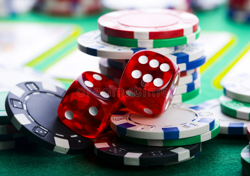 Kasinospiel lizenzfreie stockbilder