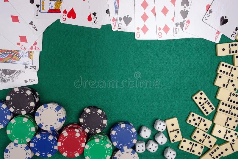 Kasinotabelle stockbilder