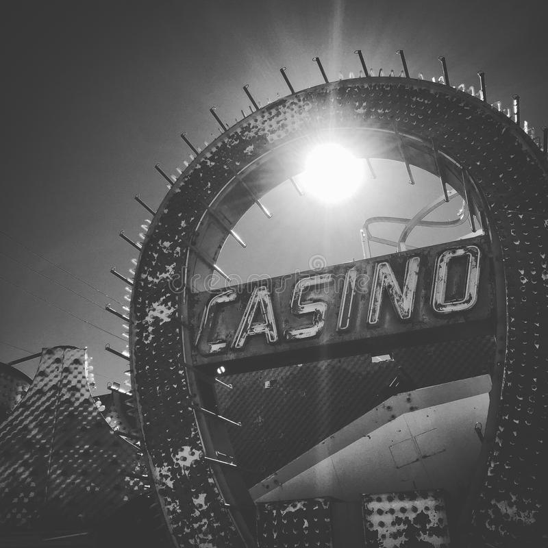 Kasinozeichen lizenzfreie stockbilder