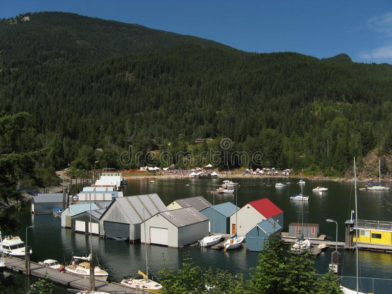 Download Kaslo Bay And Jazz Festival Stock Photo - Image: 2098416