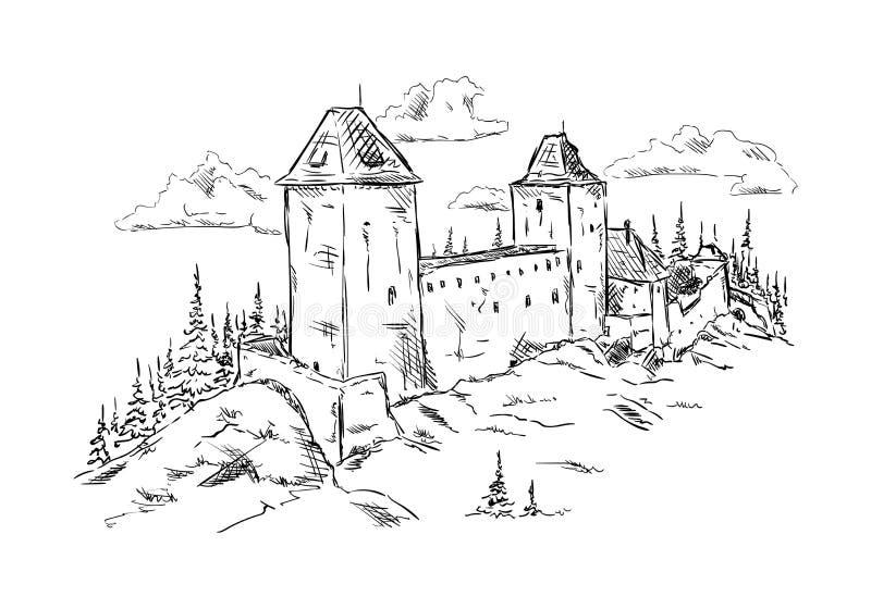 Kasperk, república checa ilustração royalty free