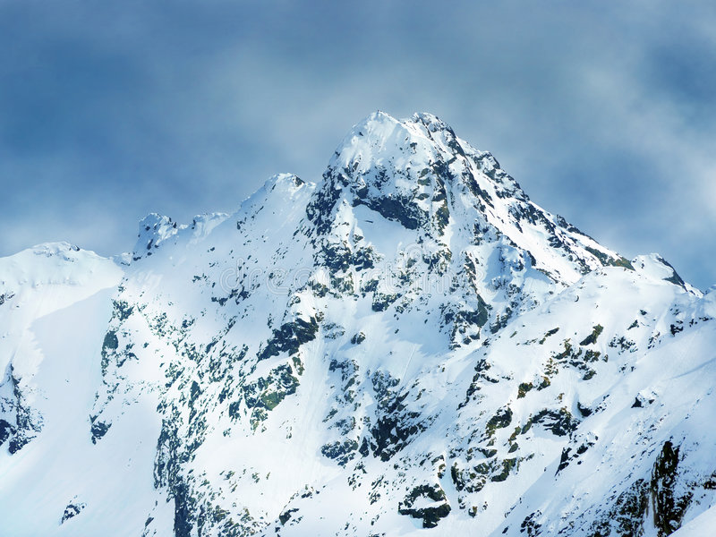 kasprowy βουνό wierch στοκ εικόνες