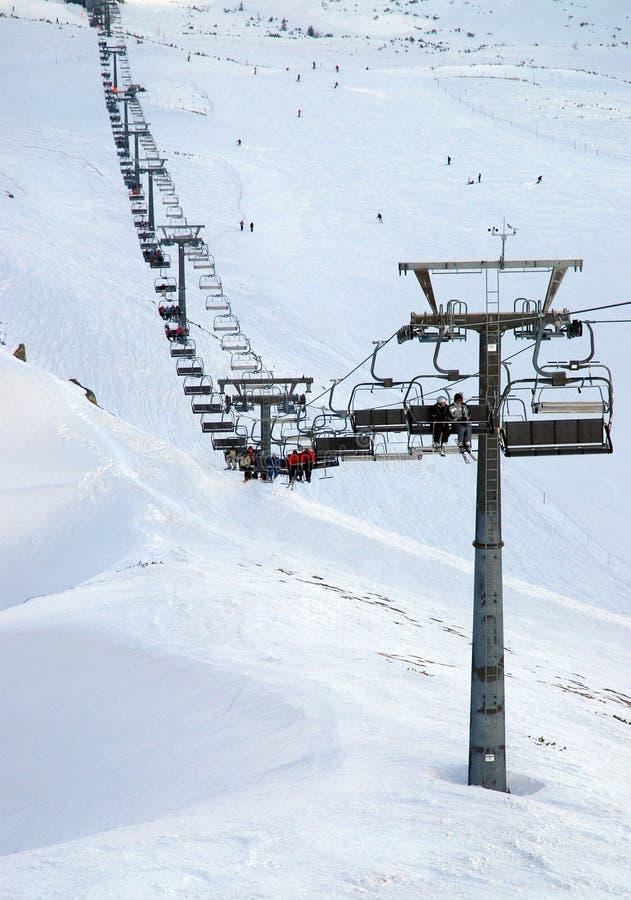 kasprowy ski kurortu góry fotografia stock