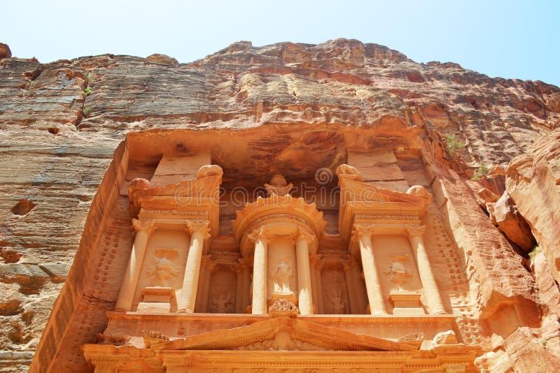 Kassa av Petra arkivfoto
