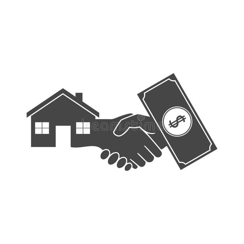 Kassa för hus vektor illustrationer