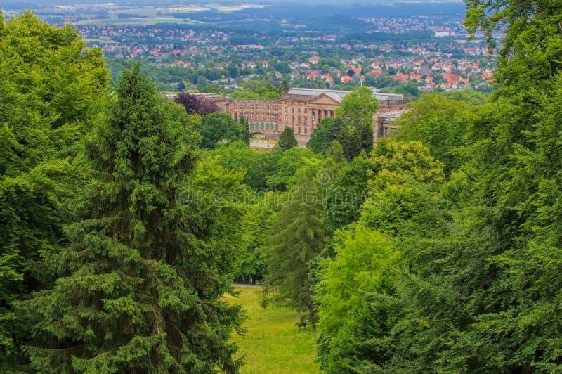 Kassel pałac Wilhelmshoehe zdjęcie stock
