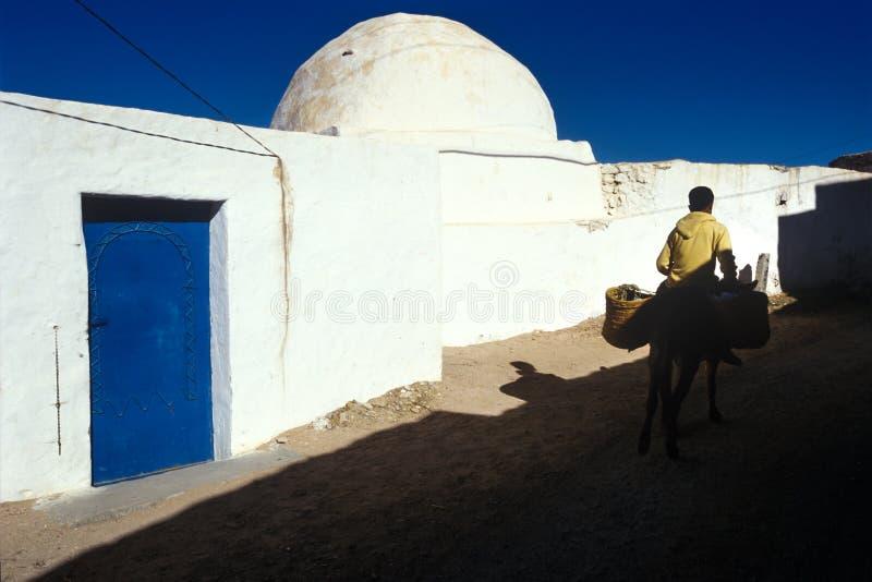 Kasserine, Тунис, Тунис - деревня стоковые изображения