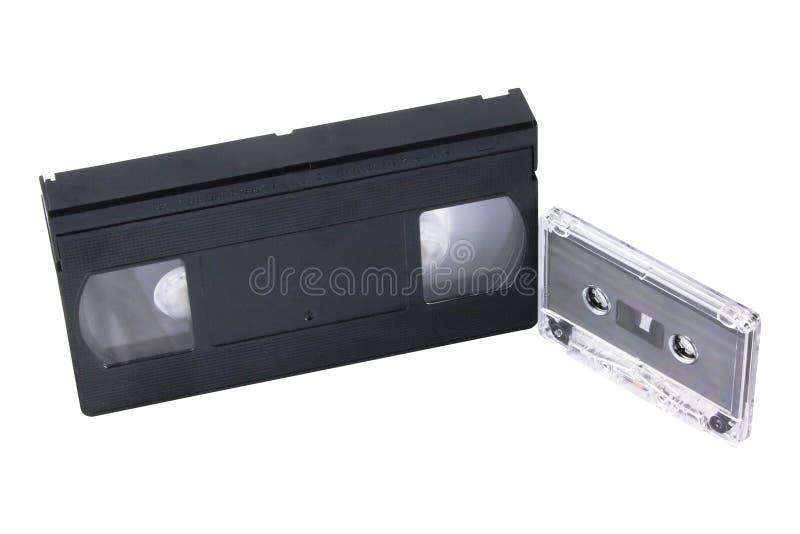 kassetter royaltyfri foto
