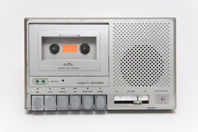 kassettregistreringsapparat royaltyfri foto