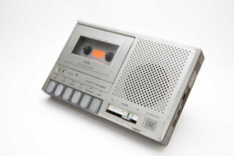 kassettregistreringsapparat arkivfoto