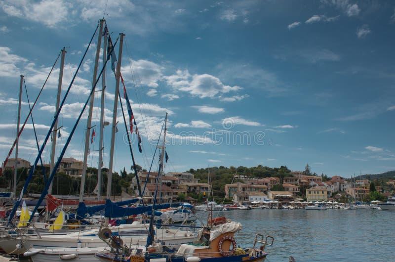 Kassiopi, Corfu zdjęcie stock