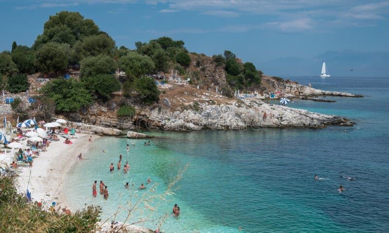 Kassiopi, Corfu obraz stock