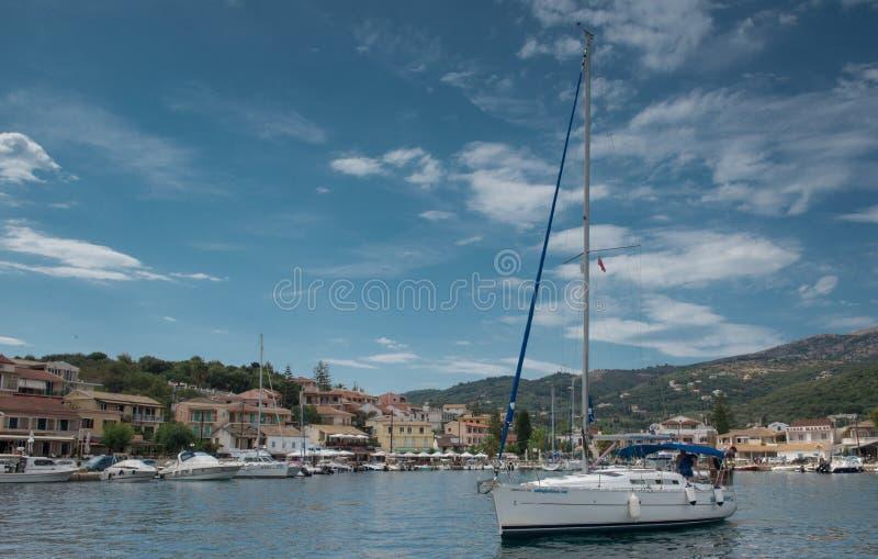 Kassiopi, Corfu zdjęcia royalty free