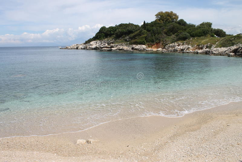 Kassiopi, Griekenland stock foto