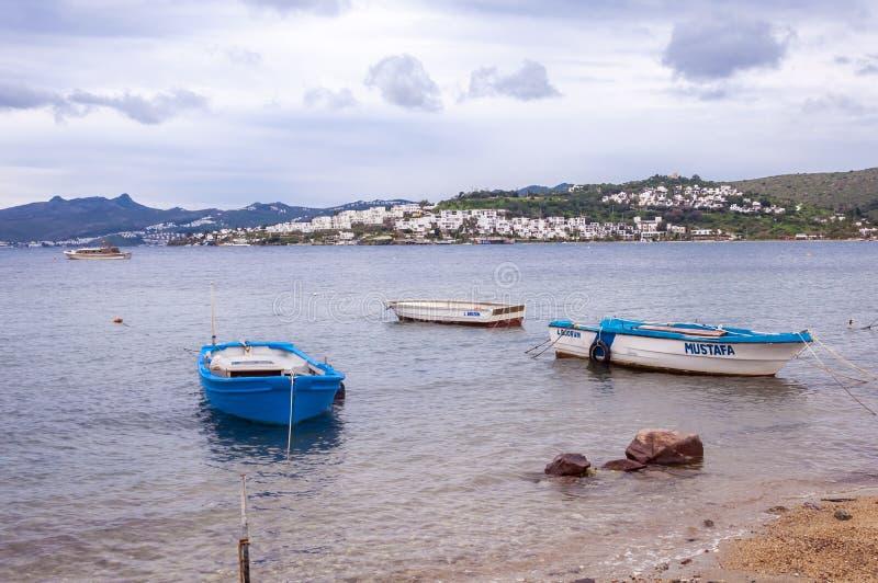 Kasstad dichtbij Antalya royalty-vrije stock afbeelding