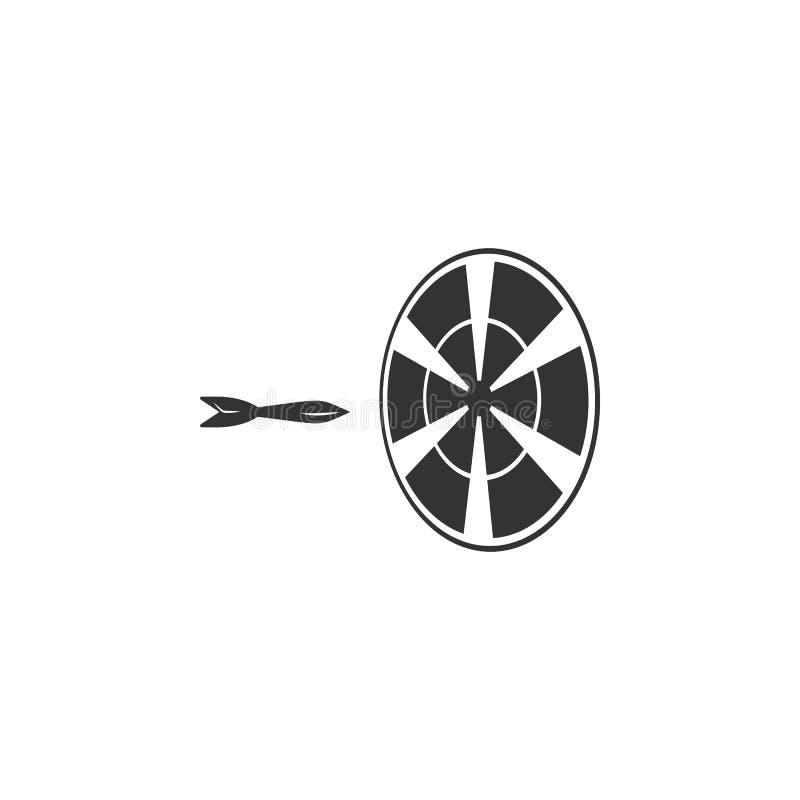 Kasta sig symbolen Beståndsdel av flygplatssymbolen för mobila begrepps- och rengöringsdukapps Den specificerade pilsymbolen kan  stock illustrationer