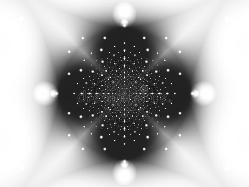 Kasta snöboll generatorn vektor illustrationer