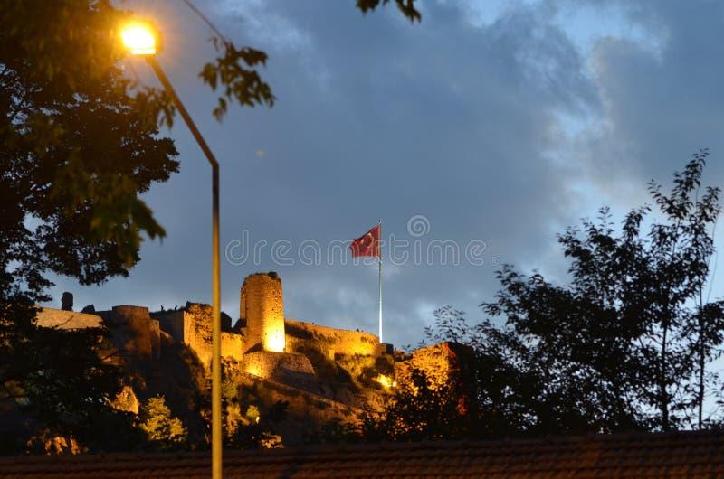 Kastamonu-Schloss lizenzfreie stockbilder