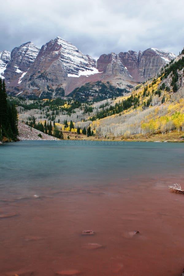 Kastanienbraune Bell, Kolorado stockfotos