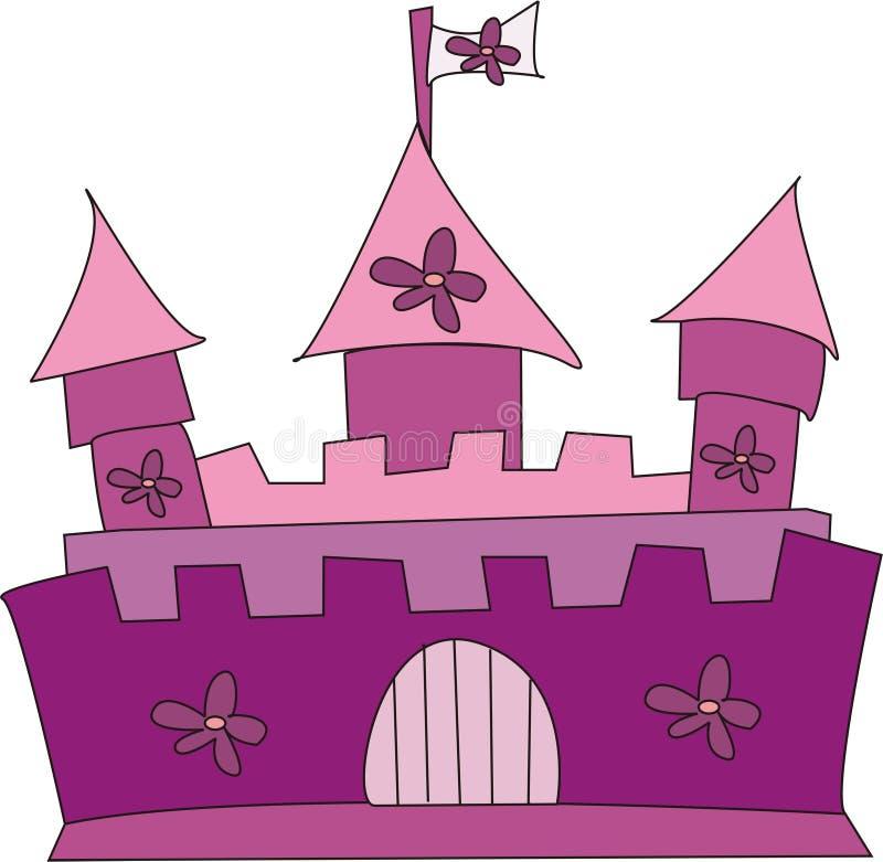 Kasteel stock illustratie