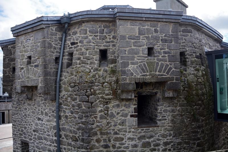 Kasteel, Athlone, Ierland stock afbeelding