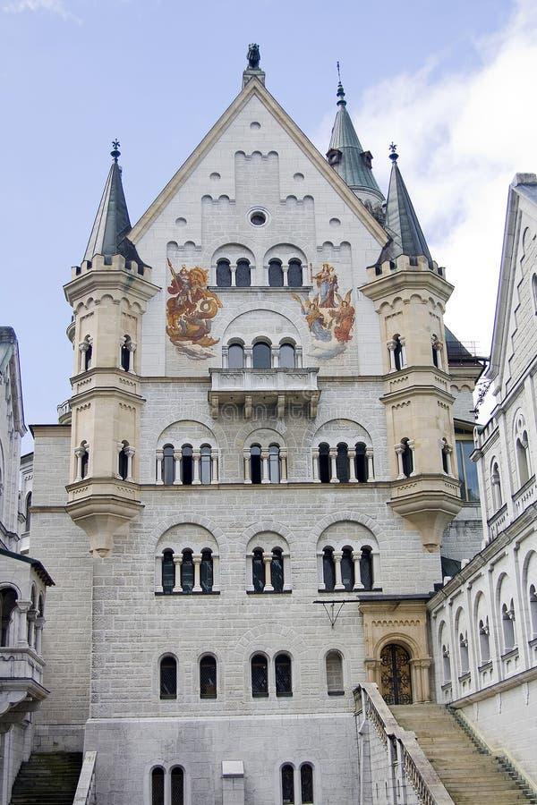 Kasteel in Beieren stock foto