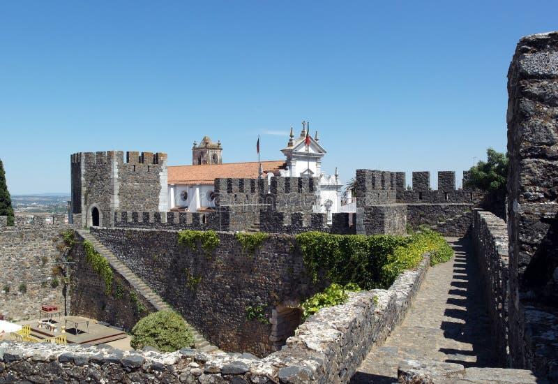Kasteel, Beja, Portugal stock foto
