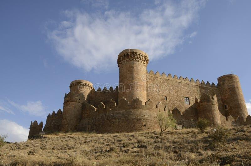 Kasteel in Belmonte royalty-vrije stock afbeeldingen