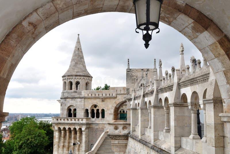 Kasteel Boedapest stock afbeelding