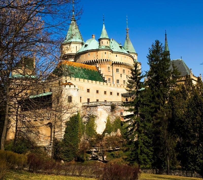Kasteel Bojnice royalty-vrije stock foto