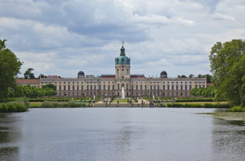 Kasteel Charlottenburg royalty-vrije stock afbeeldingen