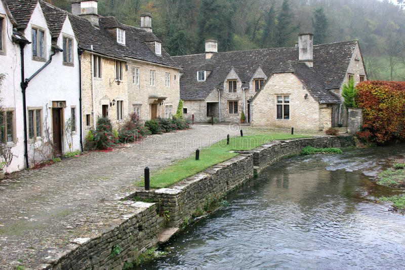 Kasteel Combe, Wiltshire royalty-vrije stock afbeeldingen
