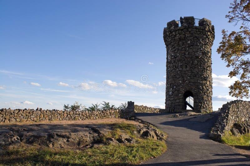 Kasteel Craig Tower stock fotografie