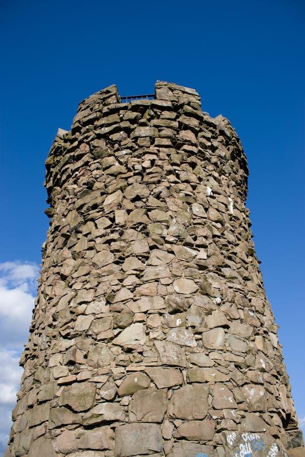 Kasteel Craig Tower royalty-vrije stock foto