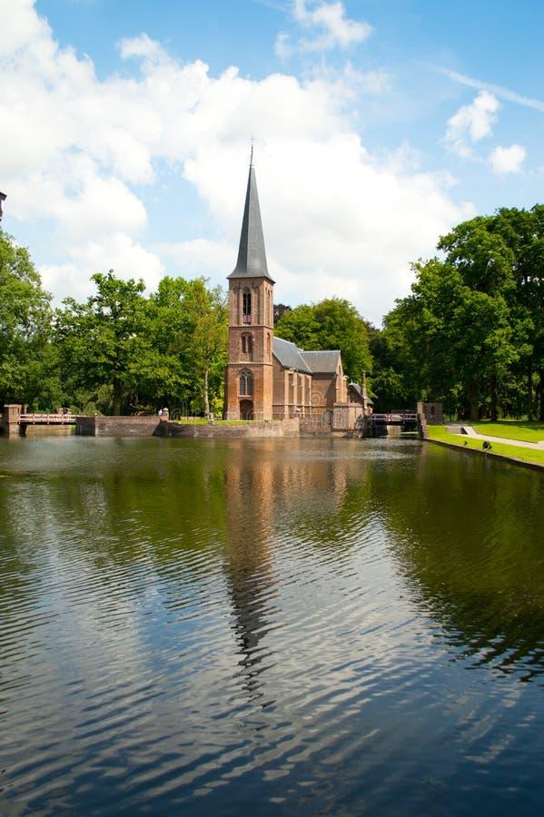 Kasteel de Haar's church royalty free stock images