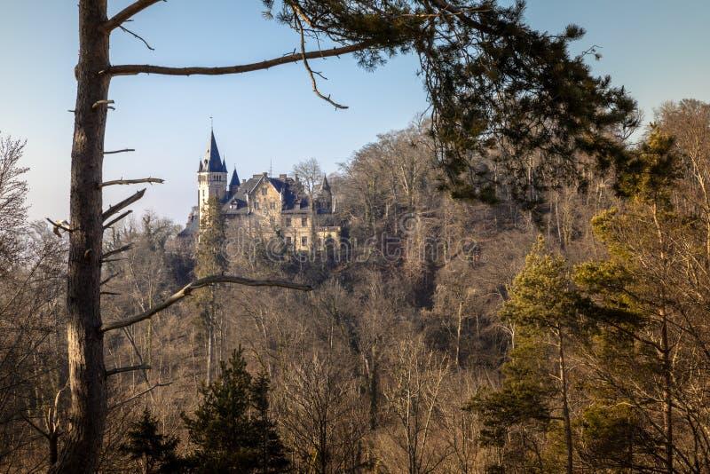 Kasteel dichtbij Weilheim Beieren Duitsland stock foto