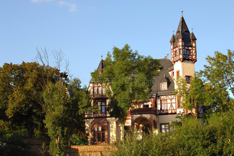 Kasteel in Duitsland stock foto's