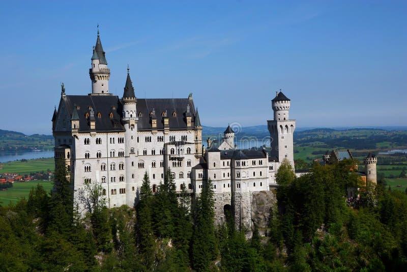 Kasteel in Duitsland royalty-vrije stock fotografie