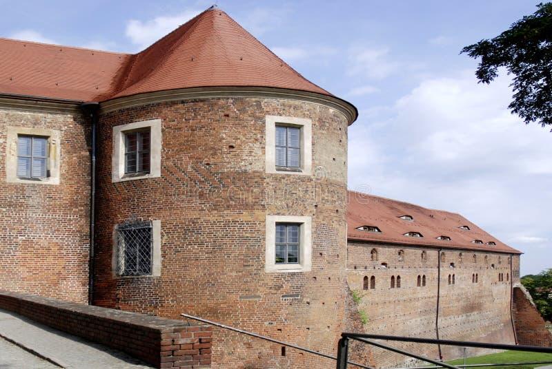 Kasteel Eisenhardt in Slechte Belzig - Duitsland royalty-vrije stock foto