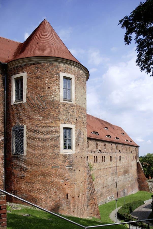 Kasteel Eisenhardt in Slechte Belzig - Duitsland royalty-vrije stock afbeeldingen