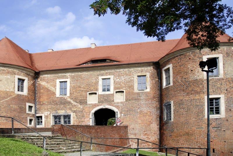 Kasteel Eisenhardt in Slechte Belzig - Duitsland stock foto