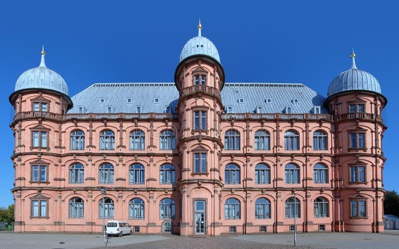 Kasteel Gottesaue in Karlsruhe, Duitsland stock fotografie