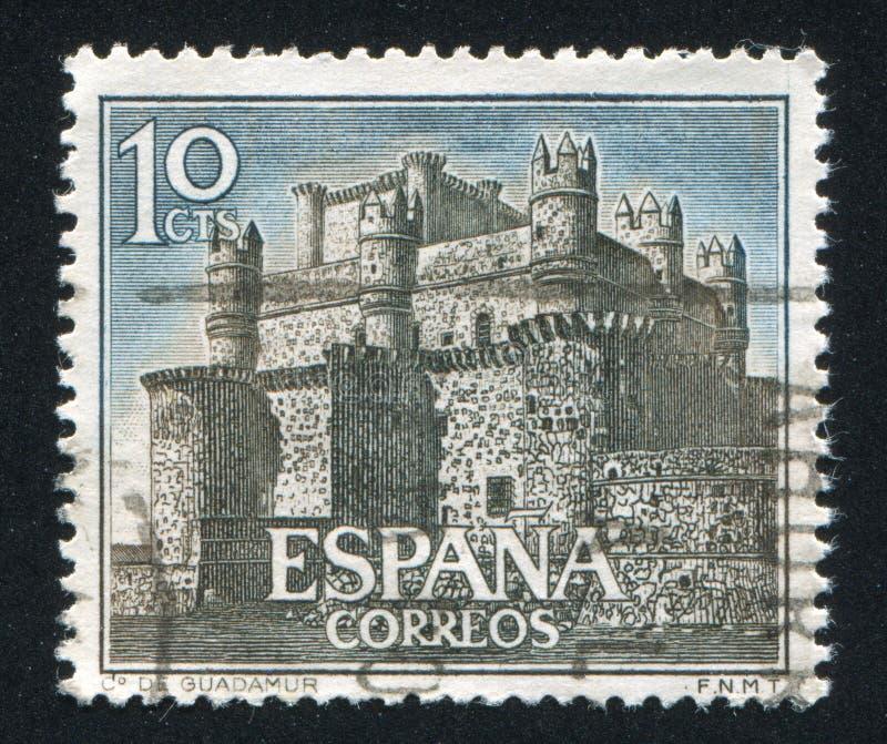 Kasteel Guadamur royalty-vrije stock afbeeldingen