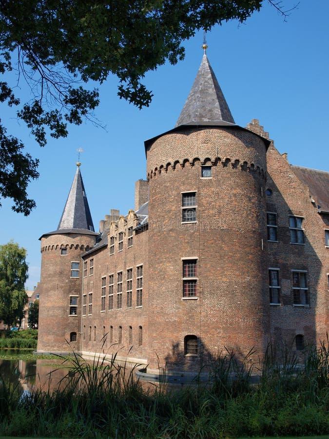 Kasteel, Helmond, Nederland royalty-vrije stock foto's