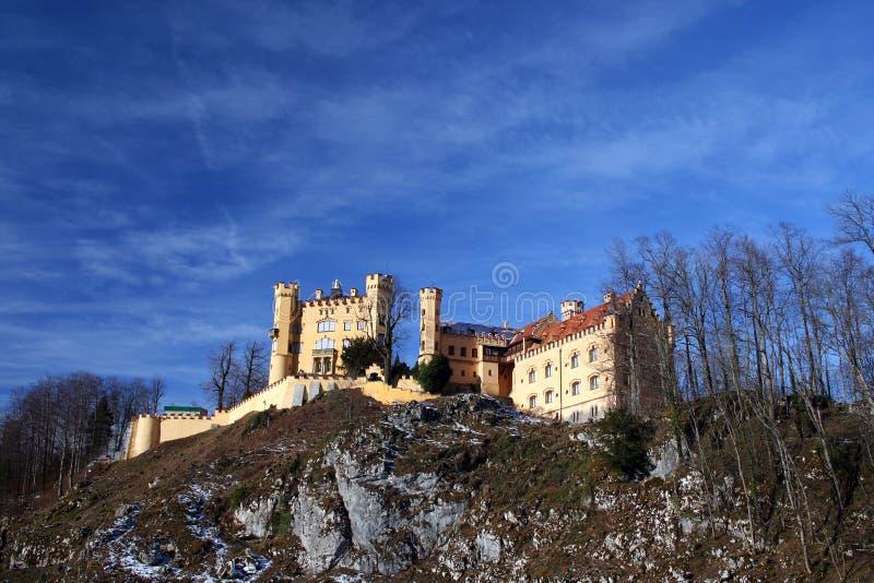 Kasteel Hohenschwangau royalty-vrije stock afbeelding